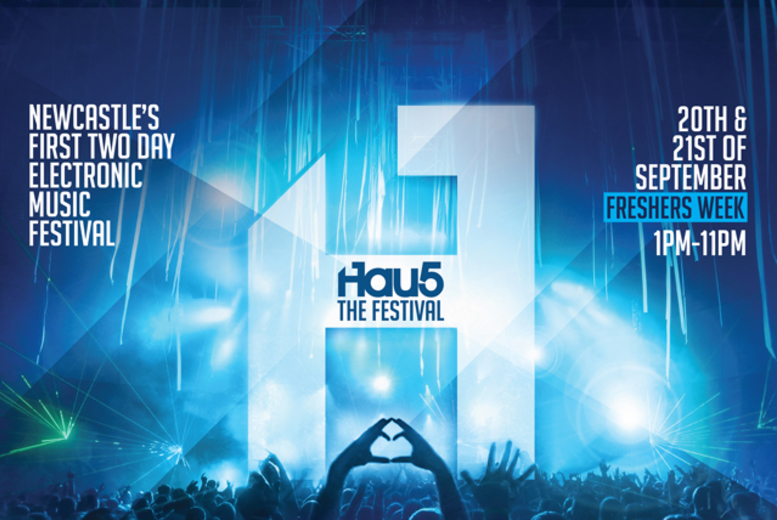 £18 instead of up to £38.75 for a Sat or Sun day ticket to Hau5 festival, £34 for a weekend ticket – save up to 54%