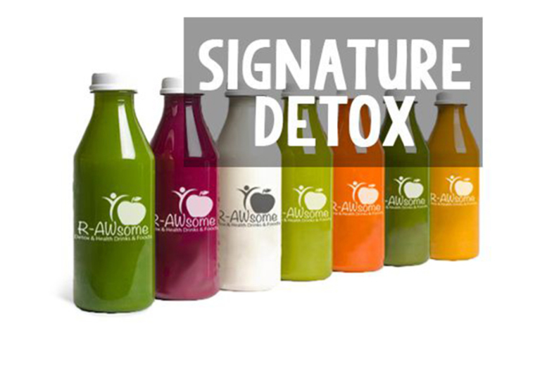 £39 instead of up to £69.20 for a 9-piece, 3-day juice detox bundle inc. 5 juices a day and a detox kit from R-AWsome - save up to 44% + DELIVERY INCLUDED*