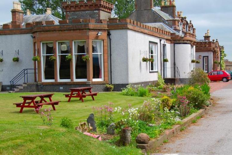 £59 (at The Urr Valley Country House Hotel) for a 2nt stay for 2 inc. breakfast and a bottle of wine - save up to 51%
