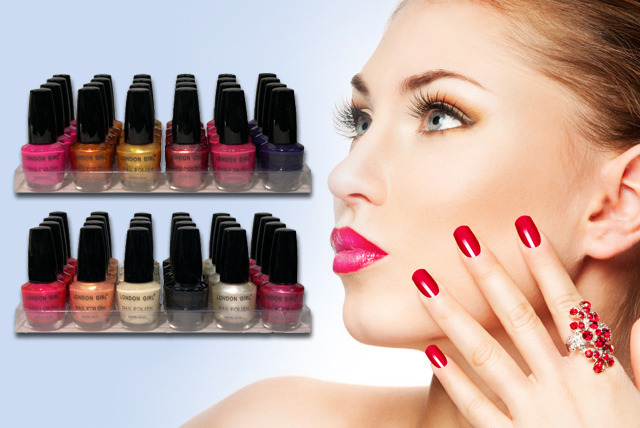 £15 instead of £49.99 (from Zuvo) for a London Girl nail polish pack of 24 in various colours - save a stylish 70%