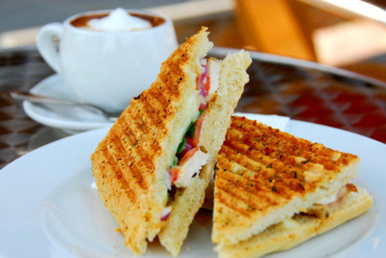 £9 instead of up to £17.60 for a 2-course Panini lunch for 2, £11 for a grill lunch at Devine Cakes Café, Nottingham - save up to 49%