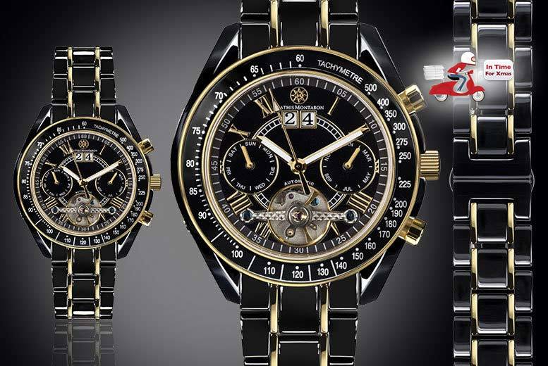 Mens Mathis Montabon Ceramic Watch