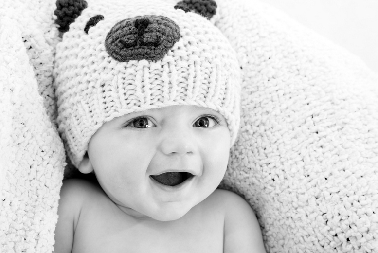 £14 for a 'bump to baby' photoshoot series inc. four shoots and an acrylic presentation box from Benchmark Photography, Manchester - save up to 53%