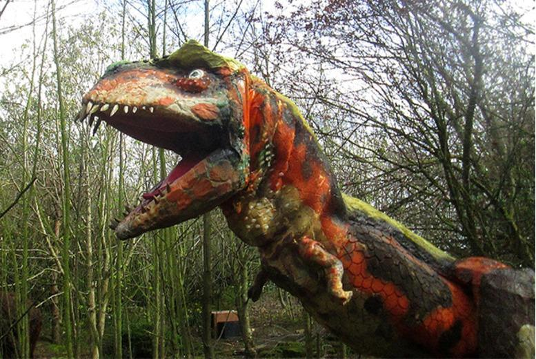 £4 for entry to Dinosaur Discovery Park for 2 people, £6 for 3 people or £7 for 4 people - save up to 50%