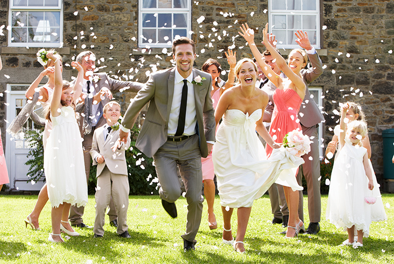 £279 for a full day wedding photography package inc. up to 300 images on CD and 3 prints from With This Ring Wedding Photography - save up to 69%