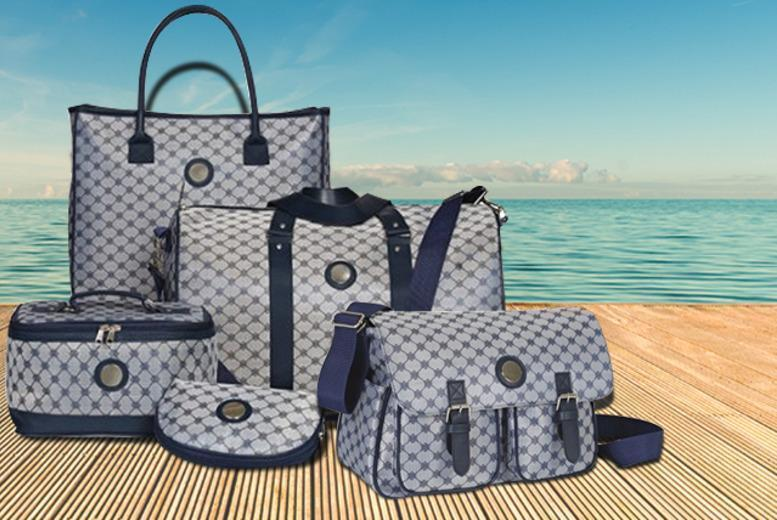 £9.99 for a satchel, £19.99 for a luxury 4-piece luggage set or £27.99 for a 5-piece set from Wowcher Direct - save up to 74%