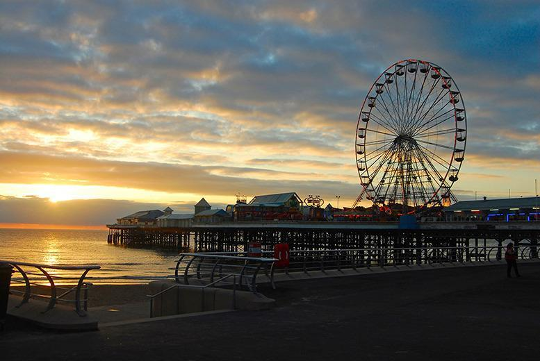 £39 instead of £60 (at The Melville Hotel, Blackpool) for a one-night stay for two with breakfast, £59 for two nights - save up to 35%