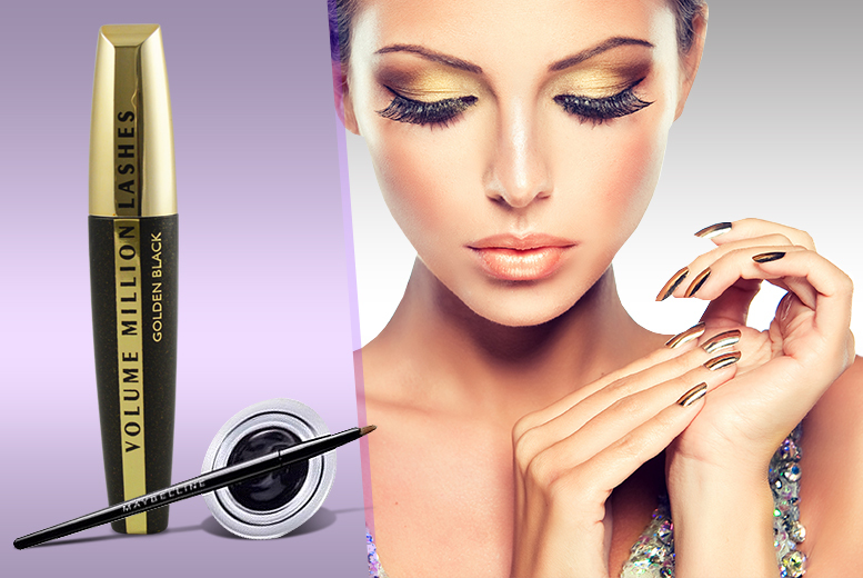 £8.99 instead of £24.99 (from Look 'N' Style) for a Maybelline gel liner and L'Oréal mascara set – save 64% + DELIVERY INCLUDED