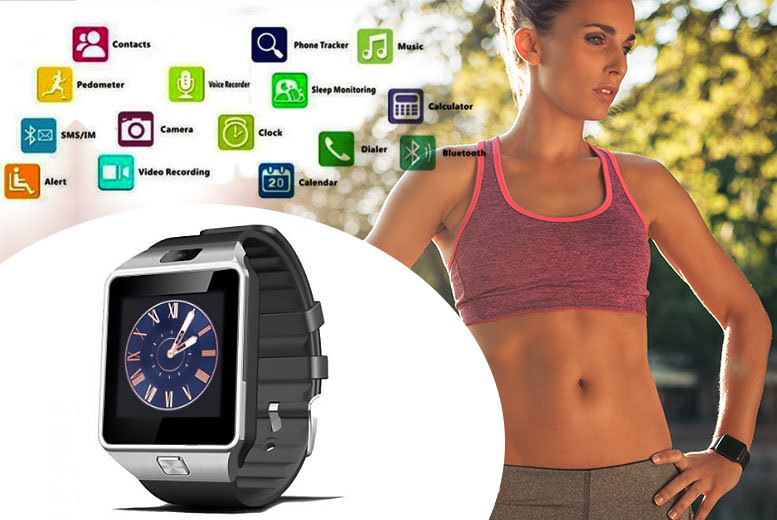 £14.99 instead of £55 (from Tomllo) for a Bluetooth smart watch - save a stylish 73%