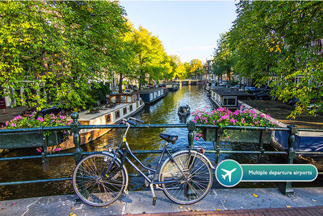 From £79pp (from iFly Holidays) for a two-night Amsterdam break including flights, from £109pp for a three-night break - save up to 61%