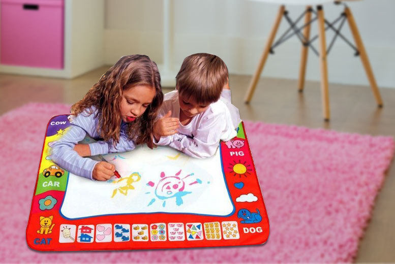 £2.99 instead of £24.99 (from Snap One Up) for a small doodle mat, £8.99 for a large doodle mat - let their imagination run wild and save up to 88%