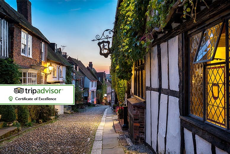 £99 instead of up to £150 (at The George in Rye) for an overnight 4* Rye stay for two people including breakfast - save up to 34%
