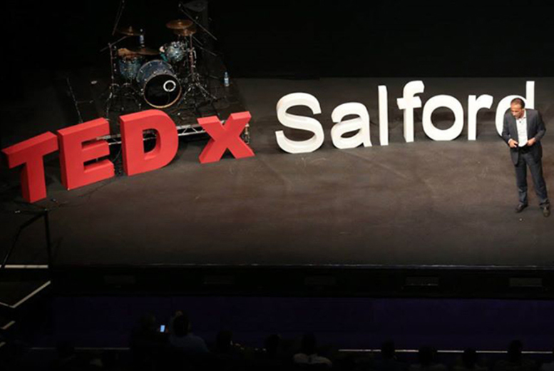 £29 instead of £49 for one full-day ticket to TEDxSalford on 5th October 2014 @ The Lowry or £49 for two tickets - save up to 41%