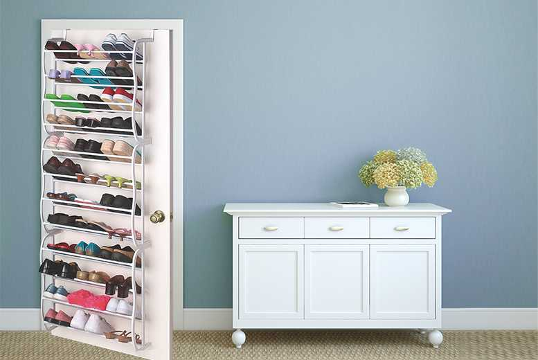 £14 instead of £29.99 (from Juggernet.com) for an over-the-door shoe rack holder - store up to 36 pairs and save 53%
