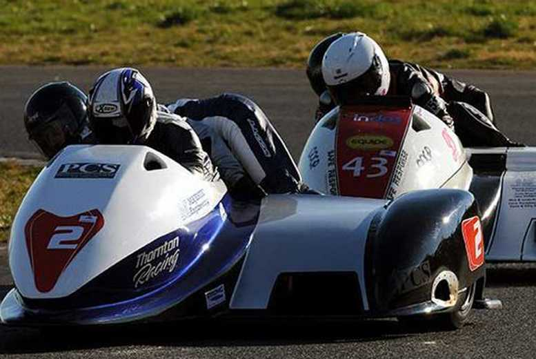 £6 instead of £35 for an adult ticket to Mallory sidecar bonanza from Real Motorsports Ltd, Kirkby Mallory - save 83%