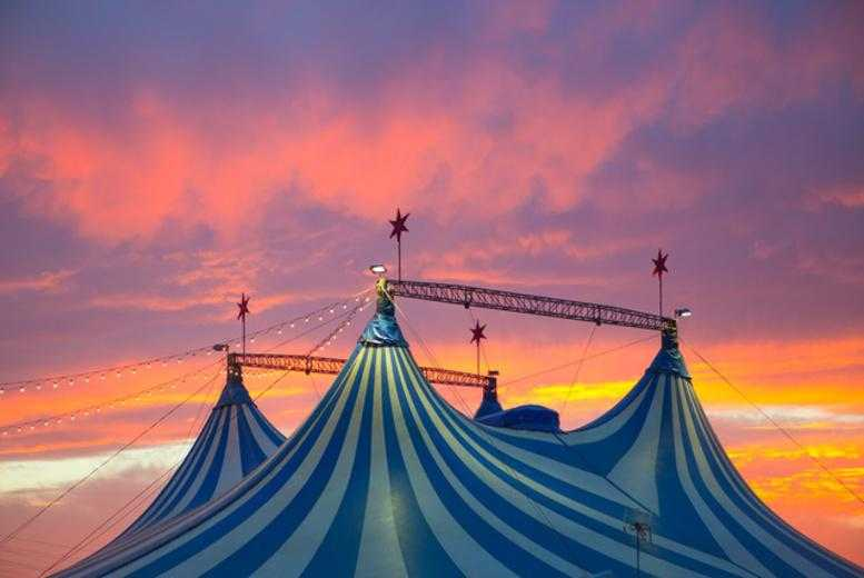 £9 instead of up to £26 for 2 adult tickets to see Russells International Circus in Newark-on-Trent, or £14 for a family ticket - save up to 65%
