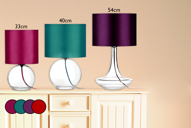 Stylish table lamps 4 colours mozeypictures Images