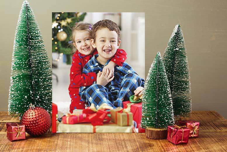 £2.99 instead of £29.99 (from Deco Matters) for a personalised A4 canvas - save a whopping 90%