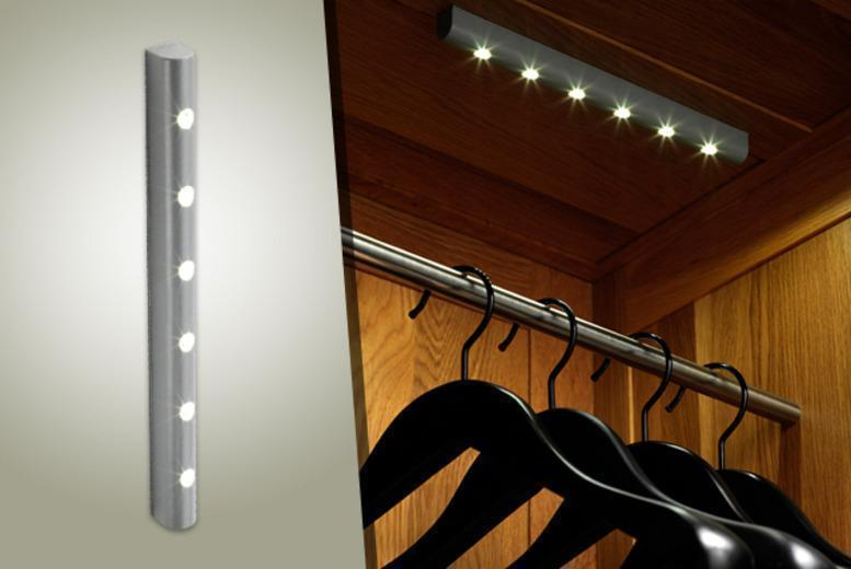 £9.99 (from Safield Distributions) for a motion-sensitive LED light, £15.99 for 2, £20.99 for 3 or £22.99 for 4 - save up to 60%