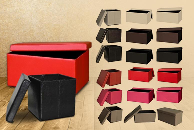 £12 instead of £46 (from D Furniture Store) for a small storage cube, or £24.99 for a large storage bench - save up to 74%