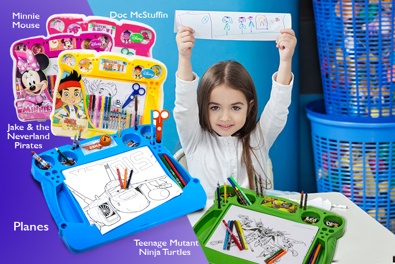 £11.99 instead of £19.99 (from Fancy Suits) for a children's Disney activity desk set – choose from 5 designs and save 40%