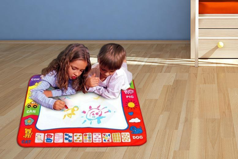£9.99 instead of £48.99 (from The Treasure Chest) for a magic doodle mat and two pens - save 80%