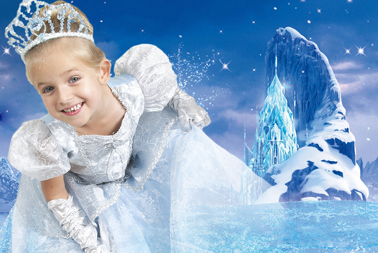 £9 for a 'Frozen'-inspired ice princess children's photoshoot for up to 2 kids including 2 prints at Wink Photography, Birmingham - save up to 74%