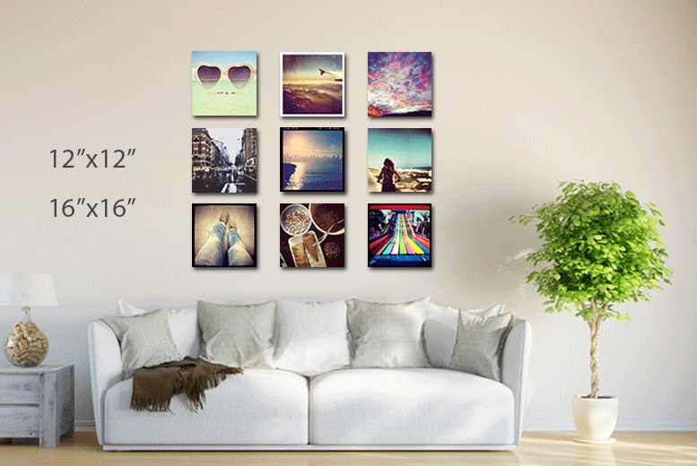 "£7.99 instead of £34.99 (from Your Perfect Canvas) for a personalised 12"" x 12"" photo canvas, £11.99 for a 16"" x 16"" canvas - save up to 77%"