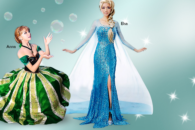 £19.99 instead of £119.99 (from Akzezorys) for an adult Frozen-inspired costume - choose from Elsa or Anna and save 83%