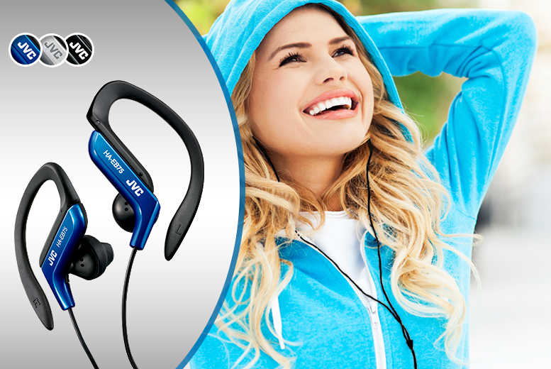 £7.98 instead of £11 for a pair of JVC sports ear clip headphones, or £14.99 for two pairs from Wowcher Direct - save up to 27%