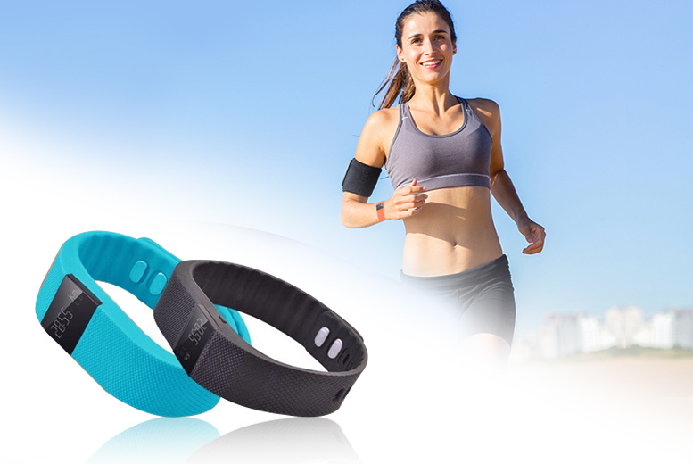£12.99 instead of £89.99 (from TLD Retail) for a TW64 smart Bluetooth fitness bracelet - choose black, blue, pink or yellow and save 86%