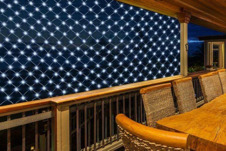 100 Solar LED Net Lights