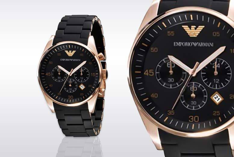 £109 instead of £349 (from Gray Kingdom) for a men's Emporio Armani watch - save 69%