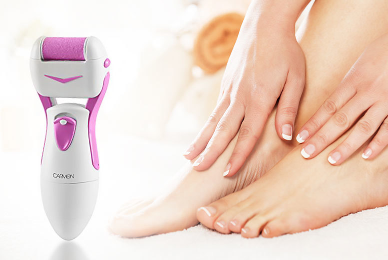 electric pedi roller
