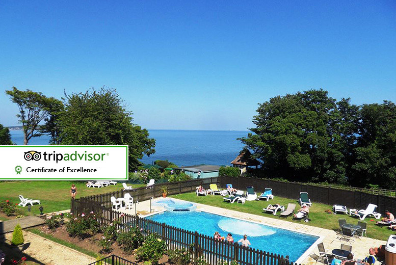 From £169 (from Luccombe Manor) for a two-night Isle of Wight break for two people with a three-course dinner, leisure access, breakfast and return ferry
