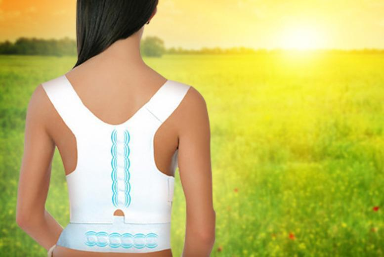 £8 instead of £24.99 (from Aneeks) for a 'posture-corrective therapy support' - save 68%