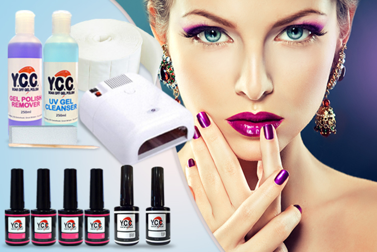 £69 instead of £239.81 (from Vivre International) for a 12-piece hybrid gel polish kit inc. 4 polishes, a UV lamp and more - save 71%