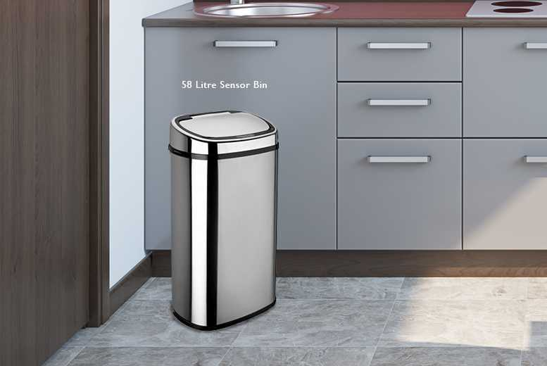 £44 instead of £113 (from To Your Home) for a 58L automatic sensor bin or £49 for 68L - save up to 61%