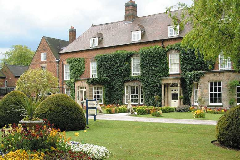 £149 for an overnight spa stay for two inc. 2 treatments each & breakfast at Risley Hall