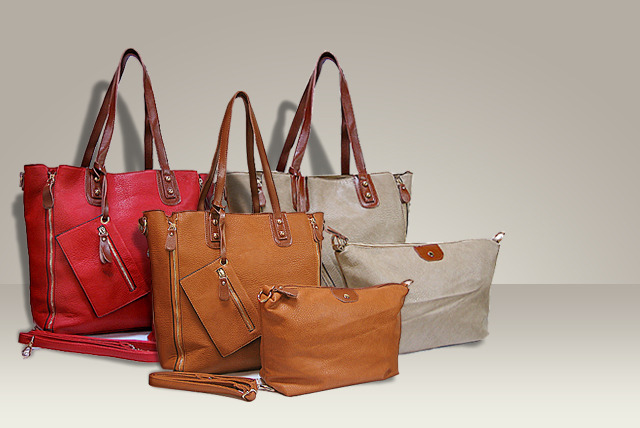 4-piece Tote Bag Set