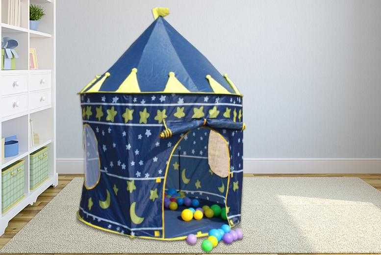 £14.99 instead of £49.99 (from Rock-a-by Baby) for a magical pop-up play tent in a choice of 2 designs - save 70%