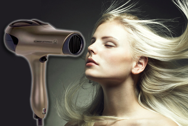 £39 instead of £120 (from The Modern Man) for a Centrix Q-Zone hair dryer  - style your hair like a pro and save 68%