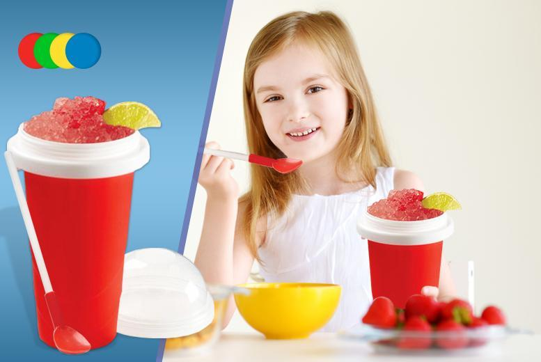 £7.99 instead of £29.99 (from London Exchainstore) for an instant slushy maker cup, £14.99 for two - save up to 73%