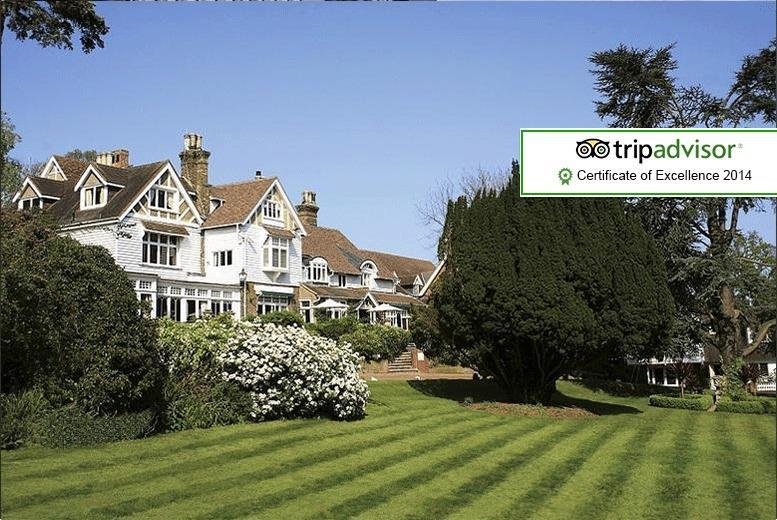 £179 (at Rowhill Grange Hotel, Kent) for a 1-night (Sun - Fri) break for 2 inc. breakfast and access to spa facilities, £229 for (Sat) stays - save up to 47%