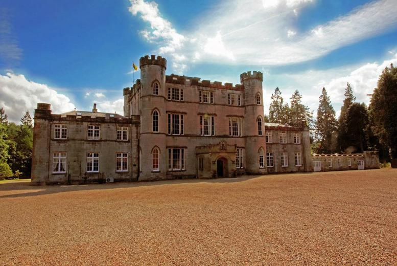 £1999 for a wedding package for 40 guests inc. venue hire, 3-course wedding breakfast, bubbly, bridal suite and more at Melville Castle - save 54%