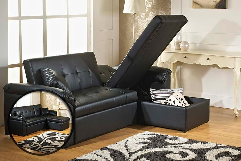 £349 instead of £700.04 (from FTA Furnishing) for a 3-in-1 sofa storage bed - save 50%