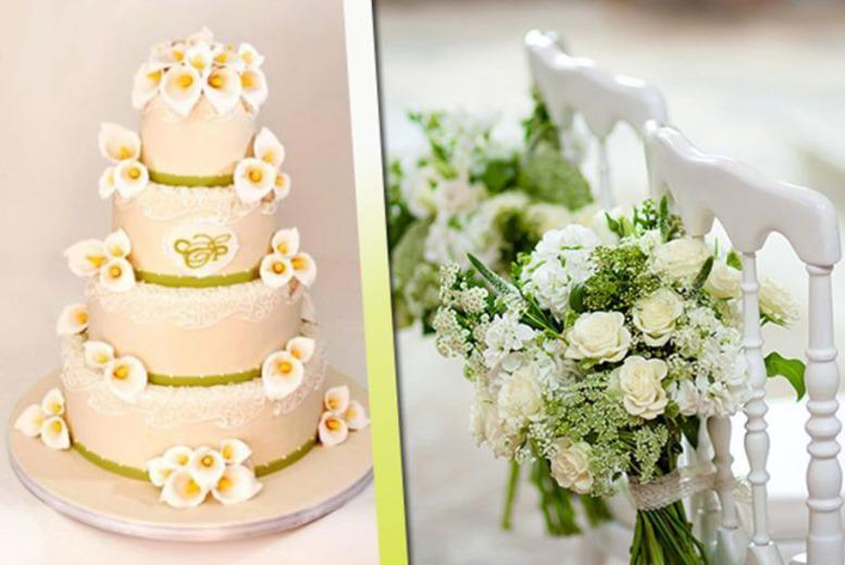 £169 instead of £450 for a bespoke 4-tier wedding cake including delivery* from New York Cakes - save a sumptuous 62%