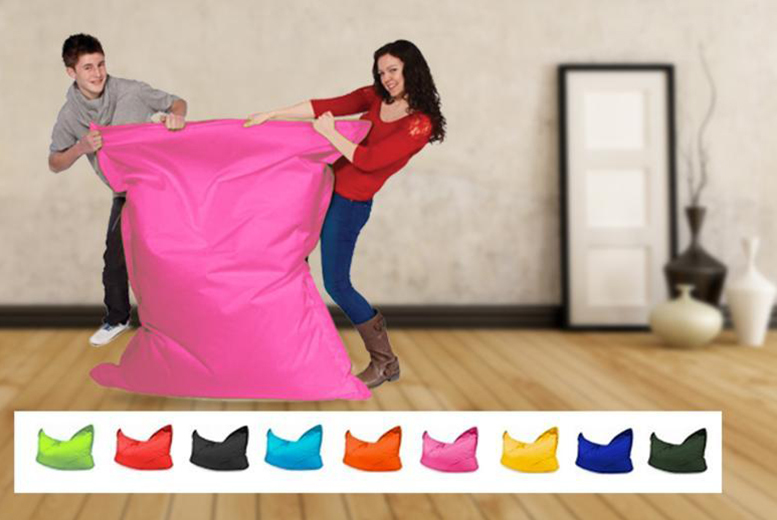 £39.99 instead of £109 (from UK Beanbags) for a giant 'Big Brother' beanbag in a choice of colours, £65.99 for 2 - save up to 63%