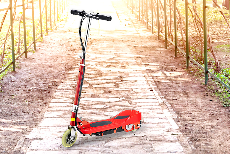 £59.99 instead of £154 (from All boxed-up.com) for an electric 120w scooter - get a wheely good deal & save 61%