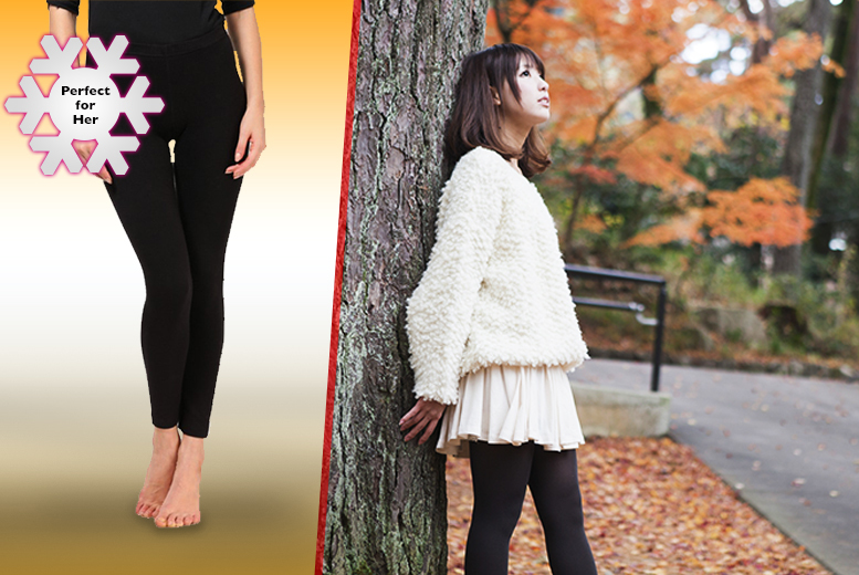£4.99 instead of £19.99 (from Beautyfit) for a pair of black thermal leggings or £8.99 for two pairs - save up to 75%